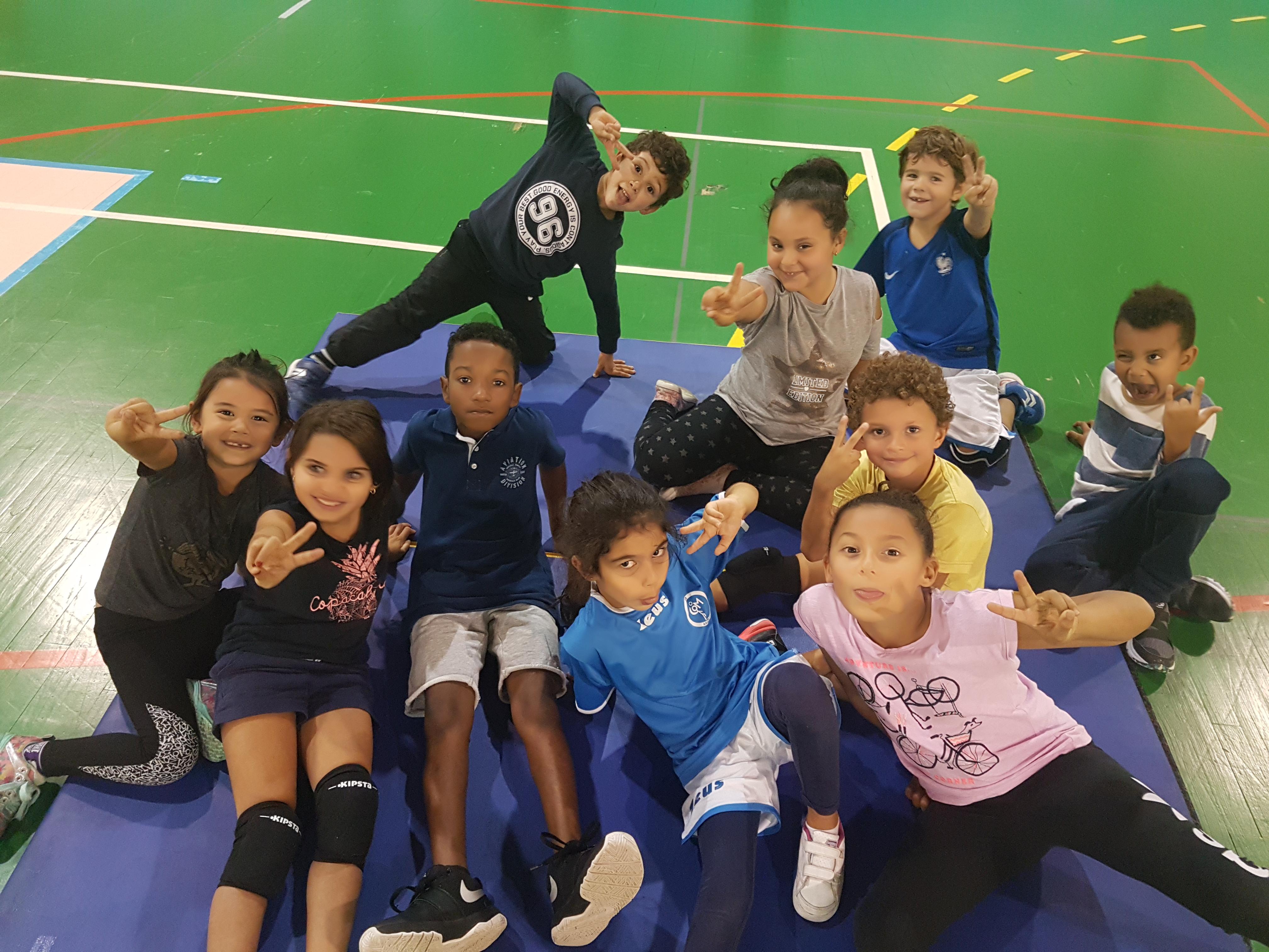 Volley ball enfant